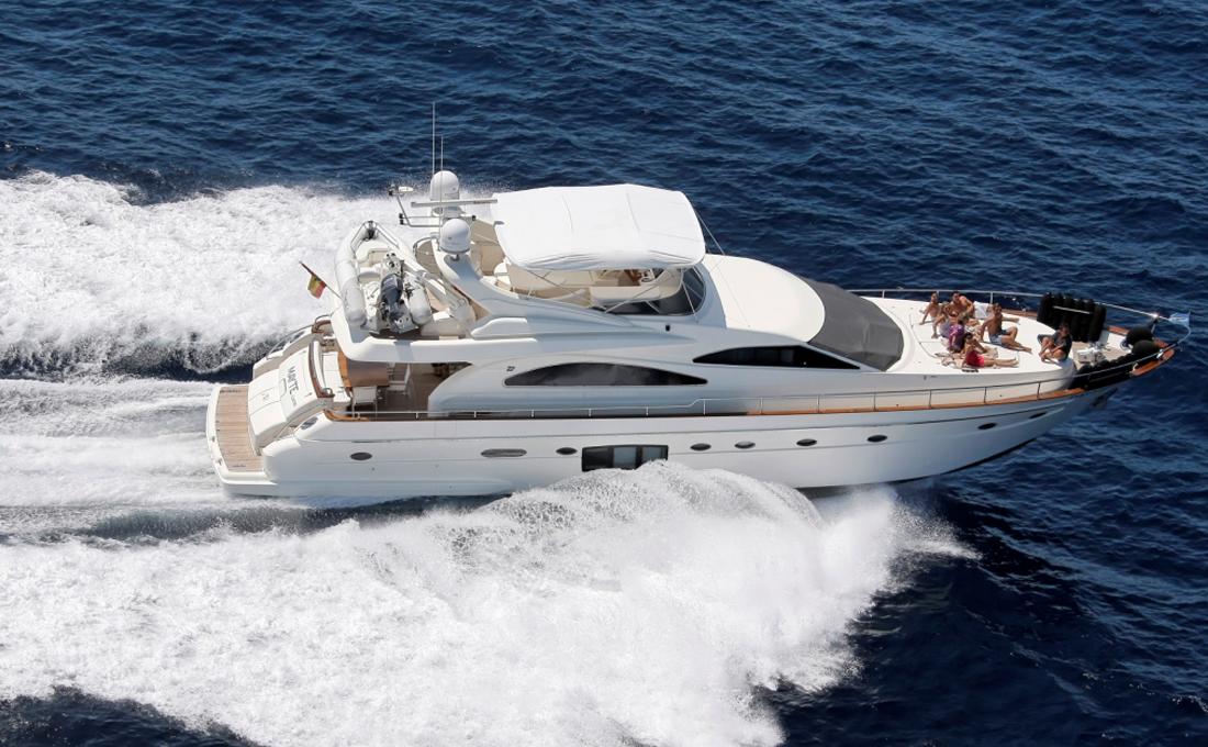 Ibiza yacht charter Astondoa 72
