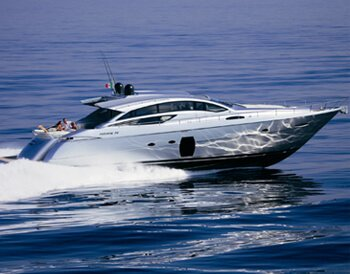 Luxury Ibiza charter Pershing 72