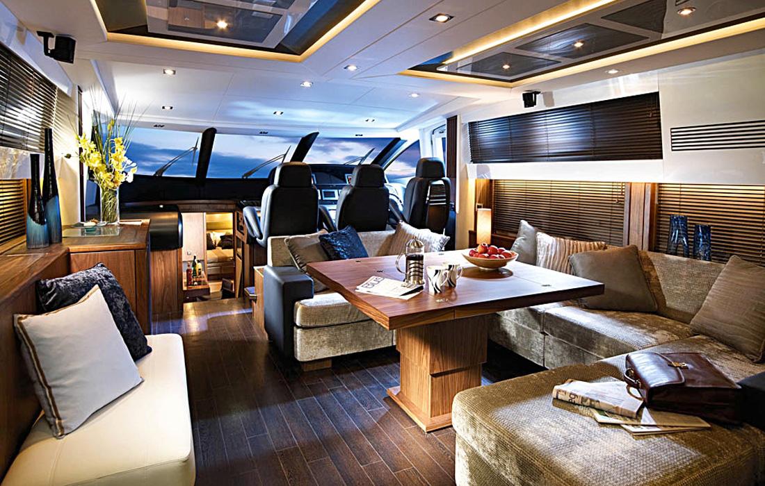 Ibiza yacht charter Sunseeker Predator 74