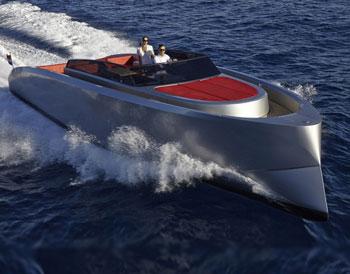 Ibiza boat charter Vanquish VQ43