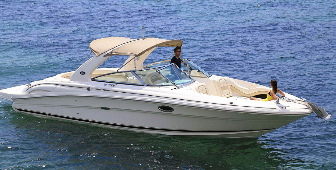 Ibiza boat charter Sea Ray 290