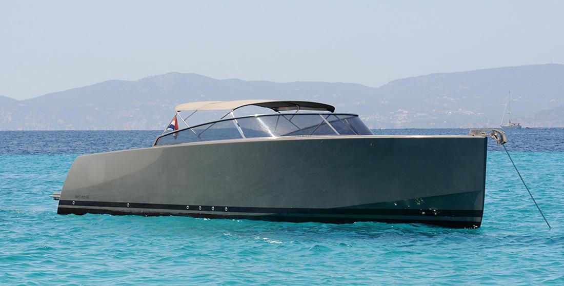 Ibiza boat charter Van Dutch 40