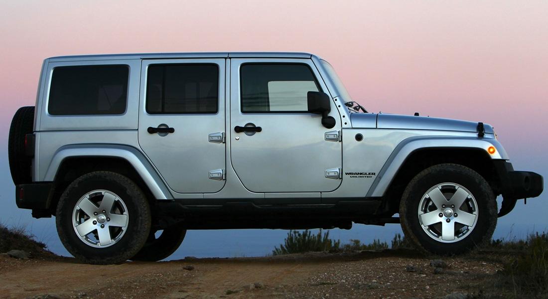 Ibiza Car rental Jeep Wrangler