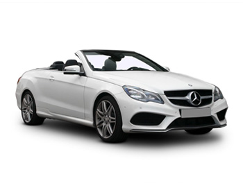 Ibiza car rental Mercedes E Cabrio