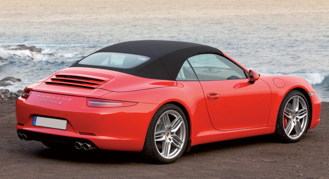 Ibiza car rental Porsche 911 Carrera S