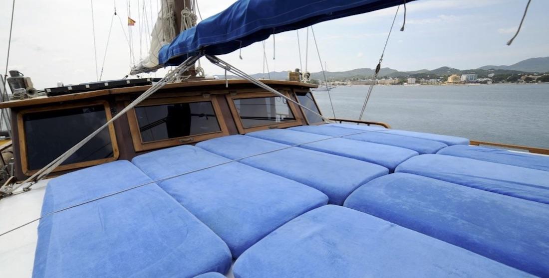 Ibiza sailboat charter Schooner Princesa del mar